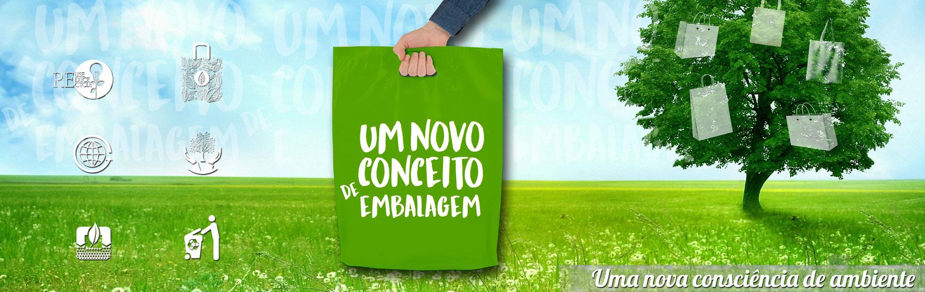 Um novo conceito de embalagem, uma nova consciência de ambiente